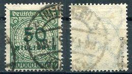 Deutsches Reich Michel-Nr. 321Wb Gestempelt - Geprüft