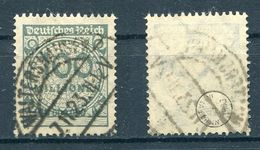Deutsches Reich Michel-Nr. 322 Gestempelt - Geprüft
