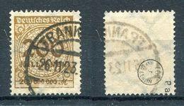 Deutsches Reich Michel-Nr. 323Pa Gestempelt - Geprüft