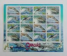 Grenada 2007** SH.0713. Dolphins MNH [14;73]