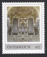 ÖSTERREICH 2013 ** Bruckner Orgel Im Stift St. Florian Bei Linz, Größte Orgel - PM Personalized Stamps MNH - Musik