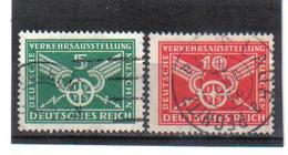 WQW552 DEUTSCHES REICH 1925 MICHL 370/71 Used / Gestempelt SIEHE ABBILDUNG