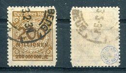 Deutsches Reich Michel-Nr. 323B Gestempelt - Geprüft