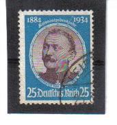 WQW565 DEUTSCHES REICH 1934 MICHL 543 Used / Gestempelt SIEHE ABBILDUNG - Deutschland