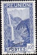 Réunion Obl. N° 129 - Vue -> Bras Des Demoiselles - 10 Cts Outremer - Réunion (1852-1975)