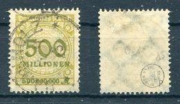 Deutsches Reich Michel-Nr. 324P Vollstempel - Geprüft