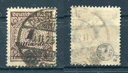 Deutsches Reich Michel-Nr. 325Pa Gestempelt - Geprüft