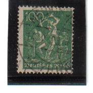 WQW590 DEUTSCHES REICH 1921 MICHL 187 Used / Gestempelt INFLA GEPRÜFT SIEHE ABBILDUNG