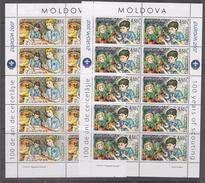 Europa Cept 2007 Moldova 2v Sheetlets ** Mnh (F6299) - 2007