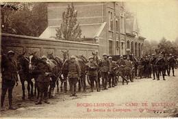 Bourg-Leopold - Camp De Beverloo En Service De Campagne Op Velddienst (de Leopoldsburg à Bois-d'Haine) 1929 - Leopoldsburg (Camp De Beverloo)