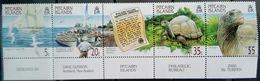 Pitcairn Islands, 2000, Sc. 511, Mi. 548-51, Y&T 522-25, SG 560-63, Birds, Marine Turtles, MNH - Francobolli