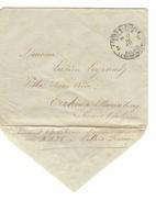 Lettre En Franchise PMB-BPL 5 16/12/18 écrit Par 1 Militaire à Calais V.Ekeren-Mariaburg PR4691
