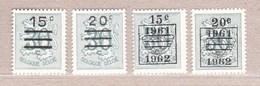 1960 Nr 1172-73A** Postfris Zonder Scharnier.Heraldieke Leeuw.