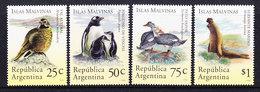Argentina 1994 Islas Malvinas / Falkland Islands Fauna 4v ** Mnh (35814) - Argentinië