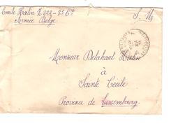 Lettre En Franchise S.M. PMB-BPL 7 24/12/18 écrit Par 1 Militaire 7° Cie  V.Sainte Cécile PR4692
