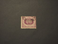 SAN MARINO - 1877/90 STEMMA  40 C. - TIMBRATO/USED