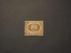 SAN MARINO - 1877/90 STEMMA  30 C. - TIMBRATO/USED