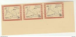 1971  GB POSTAL STRIKE Labels 1p, 2p, 5p  HAMPTON DAYANS EMERGENCY DELIVERY SERVICE Mnh Label Great Britain - Cinderellas