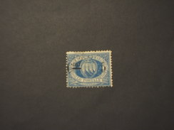 SAN MARINO - 1892  STEMMA C. 5 Su 10 - TIMBRATO/USED