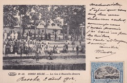 Congo Belge - COB 57 Sur Carte Postale De Basoko à Bruxelles - 1912