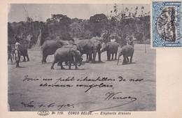 Congo Belge - COB 57 Sur Carte Postale De Léopoldville à Bruxelles - 1912