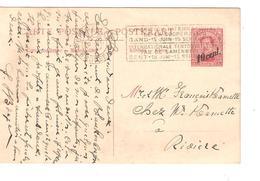 Entier CP Paquebot 19 C.méc.Bruxelles 29/7/1924 V.Rivière PR4695 - Stamped Stationery