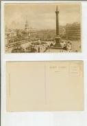 London: Trafalgar Square. Postcard Cm 9x14