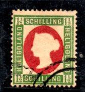 XP2208 - HELIGOLAND 1869 , Yvert N. 9 . Punto Di Trasparenza - Heligoland