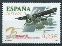 ESPAGNE SPANIEN SPAIN ESPAÑA 2002 AVIATION TRIMOTOR ROHRBACH R-VIII ROLAND ED 3907 YV 3475 MI 3755 SG 3877 SC 3170 - 2001-10 Nuevos & Fijasellos