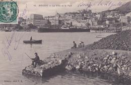 CPA BOUGIE . LA VILLE ET LE PORT - Bejaia (Bougie)