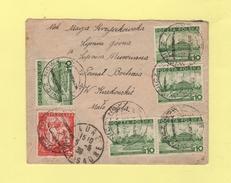 Wisnicz Nowy - Destination Lure Haute Saone - 5-5-1939 - 1919-1939 Republik