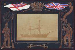 HMS TOURMALINE EMERALD CLASS CRUISER ROYAL NAVY BOER WAR 1899 - Other Collections
