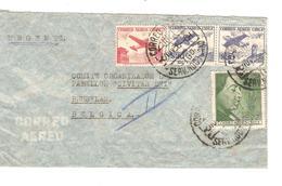 Chile-Chili Air Mail Cover C.Santiago De Chile 1958 To Belgium Brussels Arrival Canc.12/11/1958 PR4699 - Chili