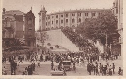 CPA ESPAGNE - SAN-SEBASTIAN - Subida A La Plaza De Toros - Spain