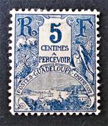 BAIE DE GUSTAVIA 1904 - NEUF * - YT 15 - Neufs