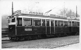 """¤¤   -  LYON   -  Carte-Photo D'un Tramway De La Ligne 7 """" Gare De Perrache - Bellecourt """"   -  ¤¤ - Lyon"""