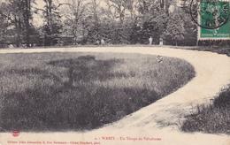 Wassy,un Virage Du Vélodrome,animée,voir Scan,écriture Rouge,cliché Humbert - Wassy