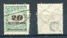 Deutsches Reich Michel-Nr. 329P Vollstempel - Geprüft