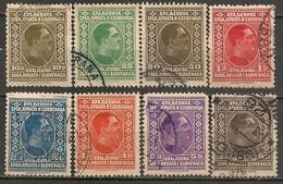 Timbres - Yougoslavie - 1926-1927 - Alexandre 1er - Lot De 8 Timbres - - Oblitérés