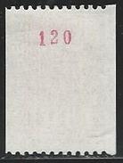 DD--888-.  N° 1895a  .  *   * ,  3 BANDES DE PHOSPHORE ( ROULETTE N° ROUGE 120 ) TTB, Cote 3.00 €, Voir Scan Pour D