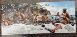 PITCAIRN ISLANDS 2007 Early Civilisation Sheet Rock Carvers MNH