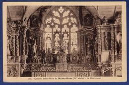29 PLOMODIERN Chapelle Sainte Marie Du Menez-Hom XVe Siècle, Le Maître-autel - Plomodiern