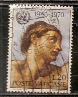 VATICAN   N°  510   OBLITERE - Oblitérés