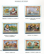 St Vincent  **  N° 279 à 290 - Monarques Britanniques