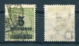 Deutsches Reich Michel-Nr. 333P Gestempelt - Geprüft