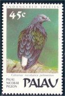 718 Palau Pigeon Nicobar MNH ** Neuf SC (P-PAL-1)