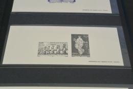 M2417-  Gravure Des Timbres-poste De France 1998- YT Serv 118-119 - Unesco - Documents De La Poste