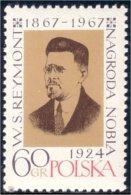 740 Pologne Prix Nobel Prize Reymont MNH ** Neuf SC (P-POL-87b)