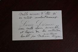 ? C.A. Louis Diémer Pianiste Compositeur - Alte Papiere