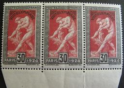 LOT R1703/108 - J.O. 1924 - N°185  BdF - NEUFS ** - Cote : 81,00 € - France
